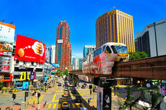 KL Monorail stock image