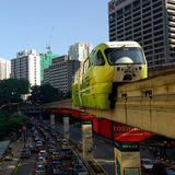KL Monorail Royalty Free Stock Image