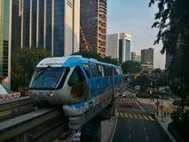 KL monorail Stock Afbeeldingen