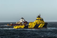KL Sandefjord Viking & Magne Zdjęcie Royalty Free