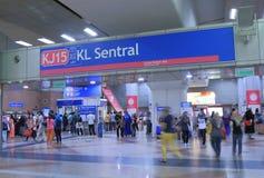 KL Sentral Station Kuala Lumpur Malasia Stock Photo