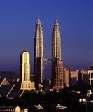 KL Skyline night view, Kuala Lumpur, Malaysia Stock Images