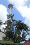 Famous KL Tower Kuala Lumpur Stock Image