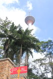 Famous KL Tower Kuala Lumpur Stock Photography