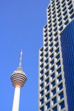 KL Tower And Modern Building Stock Photos