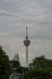 KL Tower and Petronas Twin Towers. Royalty Free Stock Images