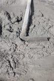 Klaar gemengd van cementmortier Stock Fotografie