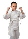 Klaar karate Stock Afbeeldingen