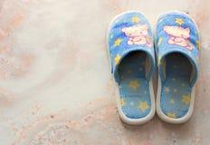 Klaar pantoffels Stock Foto's