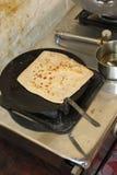 Klaar traditionele chapatis Stock Afbeelding