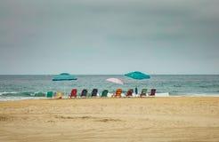 Klaar voor een dag bij het strand royalty-vrije stock foto's