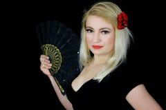 Klaar voor flamenco Stock Foto's