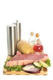 Klaar voor het koken Stock Foto