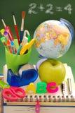 Klaar voor school Stock Foto