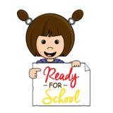 Klaar voor school Stock Afbeelding