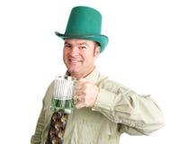 Klaar voor St Patricks Dag royalty-vrije stock foto