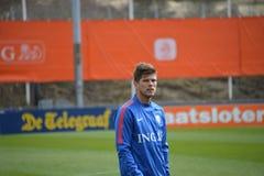 Klaas-Jan Huntelaar. Player of the German Club Schalke '04  and the Dutch National Soccer Team Stock Photo