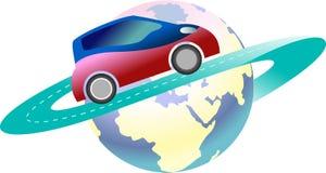 Klacks und Auto lizenzfreie abbildung