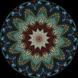 kladno för 9 kaleidoscope Arkivfoton