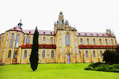 Kladrubitsky Benedictinekloster royaltyfri fotografi