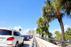 Klaffbro upp, södra Florida arkivfoto