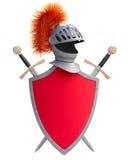 Klage der Rüstung und des Schildes Stockbild