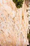 Klagemauer ist eins der bedeutenden alten jüdischen Relikte E lizenzfreies stockfoto