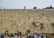 Klagemauer in Jerusalem Stockfotos