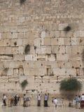 Klagemauer in Jerusalem Stockbild