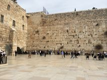 Klagemauer Jerusalem Stockfotografie