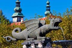 Klagenfurt, Österreich stockbild