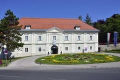 Klagenfurt Österrike i sommar Fotografering för Bildbyråer