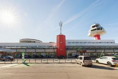 Klagenfurt Airport, Kärnten Airport, Austria royalty free stock image