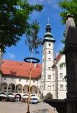 Klagenfurt Austria, Czerwiec, - 3, 2017: Landhaus w lecie fotografia royalty free