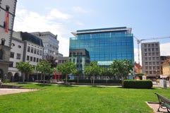 Free Klagenfurt, Austria - June 3, 2017: Modern Offfice Building In Klagenfurt, Austria Stock Photography - 105697252