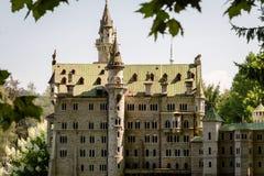 KLAGENFURT, CARINTHIA, OOSTENRIJK - AUGUSTUS 07, 2018: Park Minimundus am Worthersee Modellen van de beroemdste historische gebou royalty-vrije stock fotografie
