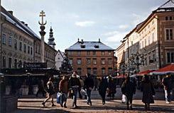 Klagenfurt christmas market Royalty Free Stock Images