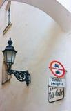 Klagenfurt gränd Fotografering för Bildbyråer