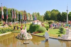 Klagenfurt . Miniature Park. Austria Stock Images