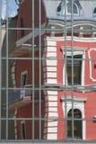 klagenfurt reflexion Fotografering för Bildbyråer