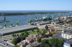 Klaipeda, port Royalty Free Stock Photos