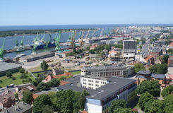 Klaipeda, port Stock Image