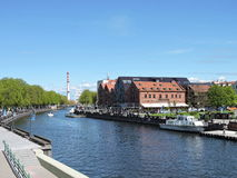 Klaipeda city, Lithuania Royalty Free Stock Photos