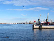 Klaipeda city, Lithuiania Stock Photography