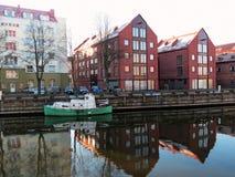 Klaipeda city, Lithuiania royalty free stock photo