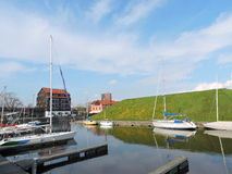 Klaipeda city Marina, Lithuania Stock Image
