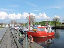 Klaipeda city Marina, Lithuania Stock Images