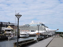 Klaipeda city Marina, Lithuania Stock Photography