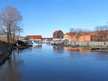 Klaipeda city Marina, Lithuania Royalty Free Stock Photo