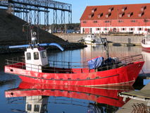 Klaipeda city Marina Royalty Free Stock Photography